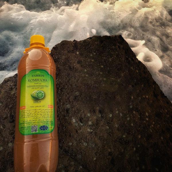 نوشیدنی طبیعی گازدار کامبوجا